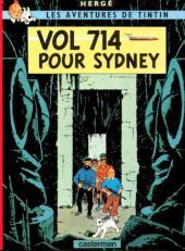 Tintin - Publicités -22Total- Vol 714 pour Sydney