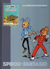 Les trésors de la bande dessinée -4- Spirou et Fantasio - La corne de rhinocéros
