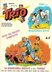 Trio - Les Pieds Nickelés Magazine -12- N°12