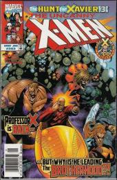 Uncanny X-Men (The) (1963) -363- The hunt for xavier ! part 3 : when you're unwanted