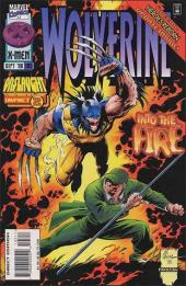 Wolverine (1988) -105- Faces in the fire