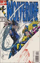 Wolverine (1988) -78- Deathstalk, a test of mettle