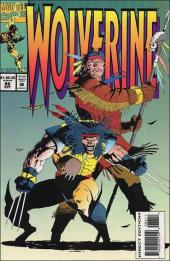 Wolverine (1988) -86- Claws along the Mohawk