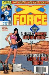 X-Force (1991) -71- Destination : unknown