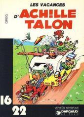 Achille Talon (16/22) -214- Les vacances d'Achille Talon