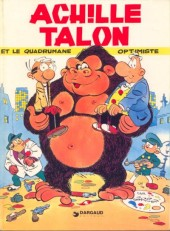 Couverture de Achille Talon -15- Achille Talon et le quadrumane optimiste
