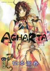 Couverture de Agharta -8- Volume 8