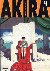 Akira (Glénat en N&B) -4- Tome 4