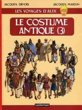 Alix (Les Voyages d') -10- Le costume antique (3)