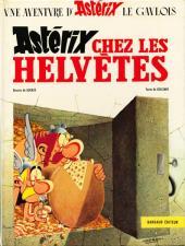 Astérix -16- Astérix chez les Helvètes