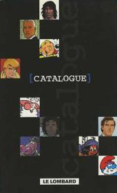 (Catalogues) Éditeurs, agences, festivals, fabricants de para-BD... - Catalogue - Le Lombard