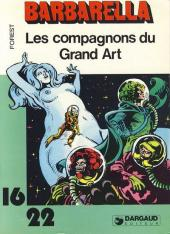 Barbarella (16/22) -270- Les compagnons du Grand Art