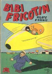 Bibi Fricotin (2e Série - SPE) (Après-Guerre) -32- Bibi Fricotin pilote d'essais