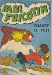 Bibi Fricotin (2e Série - SPE) (Après-Guerre) -51- Bibi Fricotin chasse le Yéti