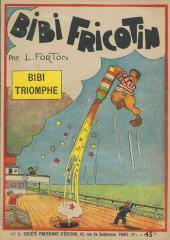 Bibi Fricotin (2e Série - SPE) (Après-Guerre) -5- Bibi triomphe