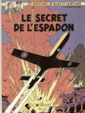 Blake et Mortimer (Éditions Blake et Mortimer) -1- Le Secret de l'Espadon T1