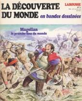 La découverte du monde en bandes dessinées -9- Magellan le premier tour du monde