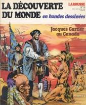 La découverte du monde en bandes dessinées -10- Jacques Cartier au Canada