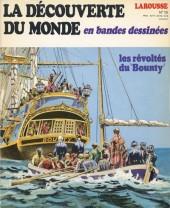 La découverte du monde en bandes dessinées -15- Les révoltés du Bounty