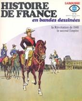 Histoire de France en bandes dessinées -19- La Révolution  de 1848, le second empire