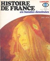 Histoire de France en bandes dessinées -24- 1942-1974