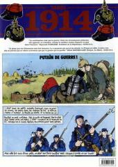 Couverture de Putain de guerre ! -1- 1914