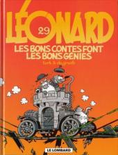 Léonard -29- Les bons contes font les bons génies