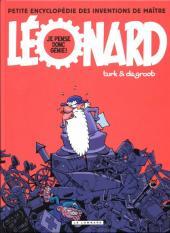 Léonard -HS6- Petite encyclopédie des inventions du maître : Je pense donc génie !