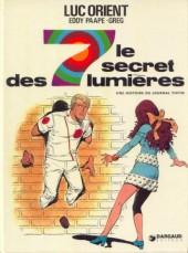 Luc Orient -6- Le secret des 7 lumières