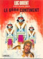Luc Orient -10- Le 6ème continent