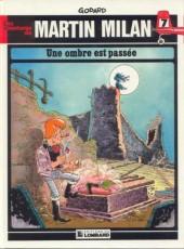 Martin Milan (2e Série) -7- Une ombre est passée