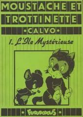 Moustache et Trottinette (Futuropolis) -1- L'Île Mystérieuse