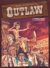 Outlaw -2- Barres à mines et coyotes roses