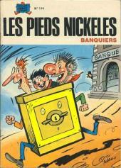 Les pieds Nickelés (3e série) (1946-1988) -114- Les Pieds Nickelés banquiers