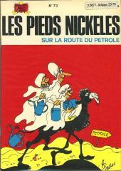 Les pieds Nickelés (3e série) (1946-1988) -73- Les Pieds Nickelés sur la route du pétrole