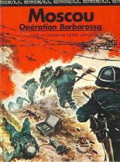 La seconde guerre mondiale - Histoire B.D. / Bande mauve -5- Moscou - Opération Barbarossa