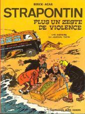 Strapontin -7- Plus un zeste de violence