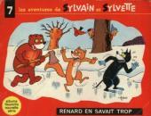 Sylvain et Sylvette (03-série : Fleurette nouvelle série) -7- Renard en savait trop