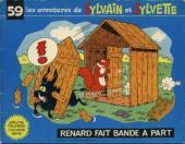 Sylvain et Sylvette (03-série : Fleurette nouvelle série) -59- Renard fait bande à part