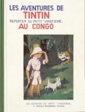 Tintin (Fac-similé N&B) -2- Tintin au Congo