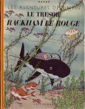 Tintin (Historique) -12A24- Le trésor de Rackham Le Rouge