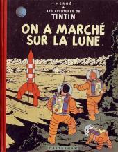 Tintin (Historique) -17B11- On a marché sur la lune