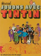 Tintin - Divers -J1+2- Jouons avec Tintin
