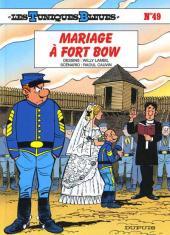 Les tuniques Bleues -49- Mariage à Fort Bow