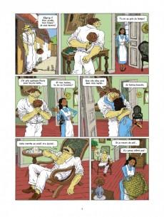 Extrait de La grippe Coloniale -2- Cyclone la Peste
