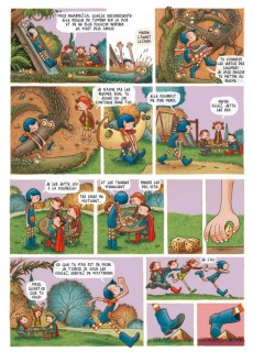 Extrait de Alicia et le jeu de l'oie
