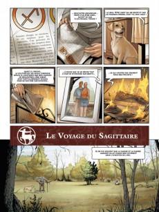 Extrait de Zodiaque (Delcourt) -9- Le Voyage du Sagittaire