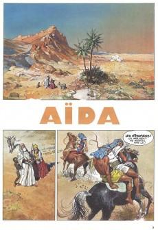 Extrait de Aïda de Giuseppe Verdi -1- Aïda