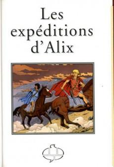 Extrait de Alix -HS10TL- Les Expéditions d'Alix