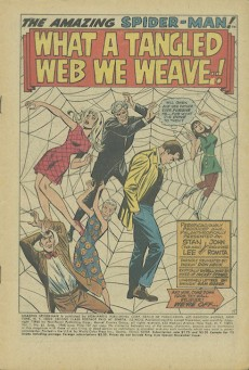 Extrait de Amazing Spider-Man (The) (1963) -61- What a tangled web we weave...!